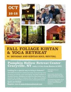 Pumpkin Hollow Retreat w_ KSR & Devadas